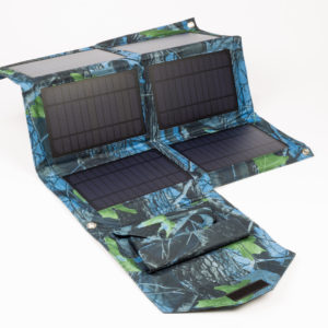 Solar-Panel Fisher camouflage-blau_1562